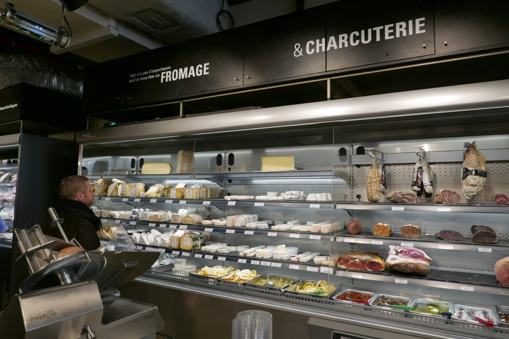 Le rayons fromages © GP
