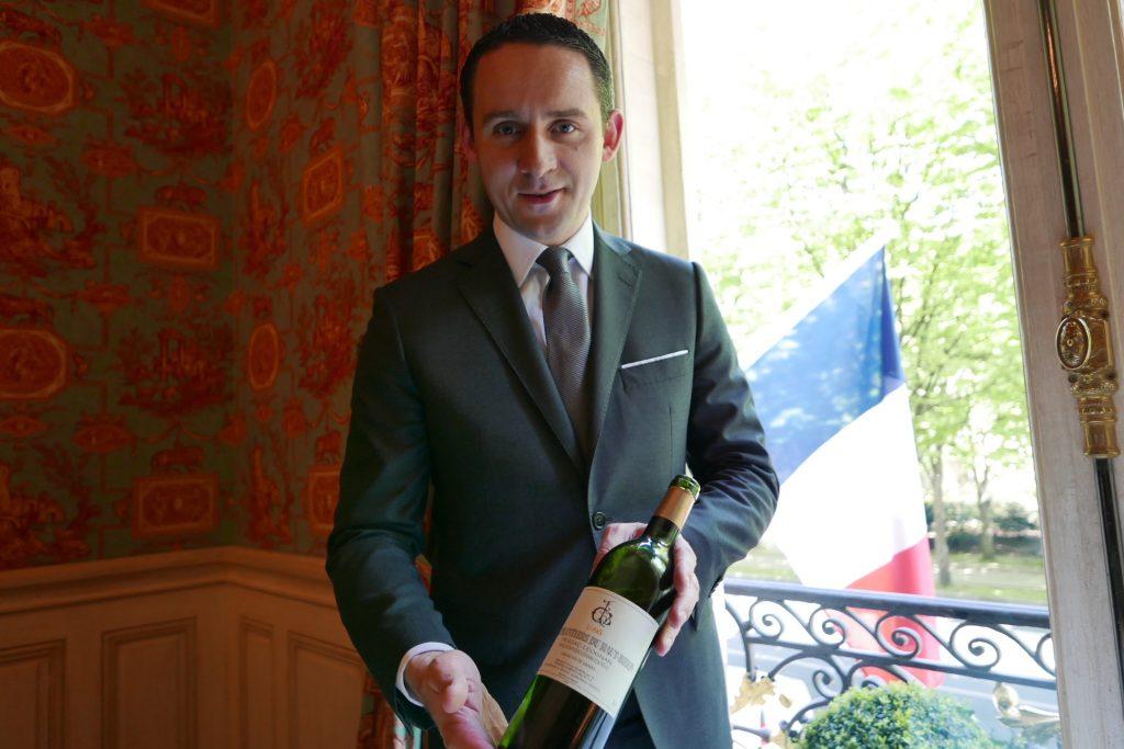 Service du vin © GP