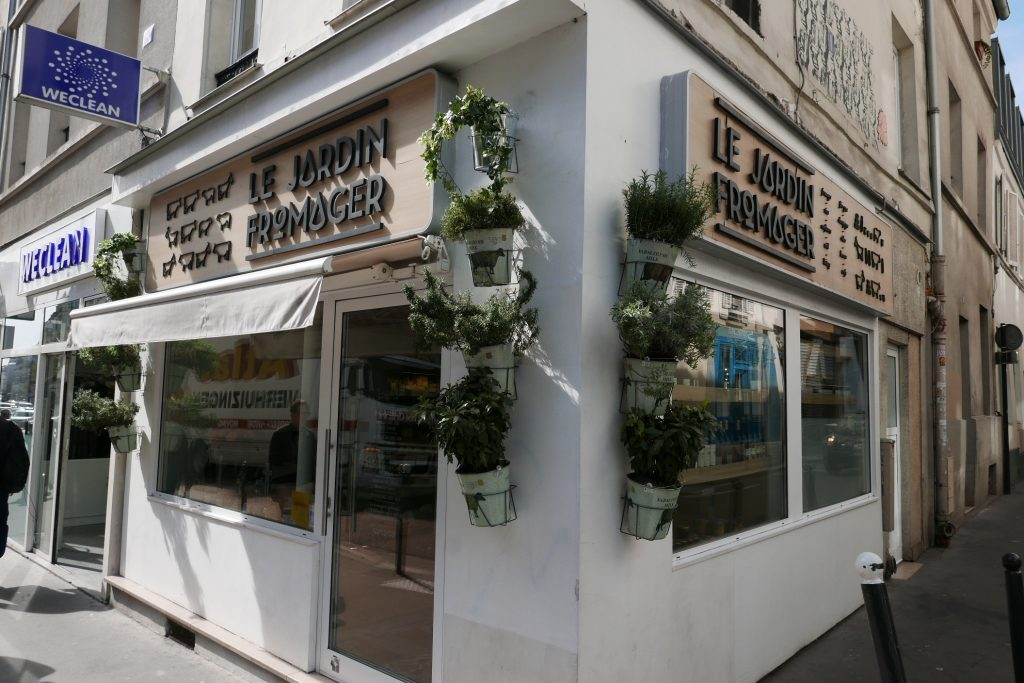 Le jardin fromager fromager paris 11e les fromages de for Le jardin fromager