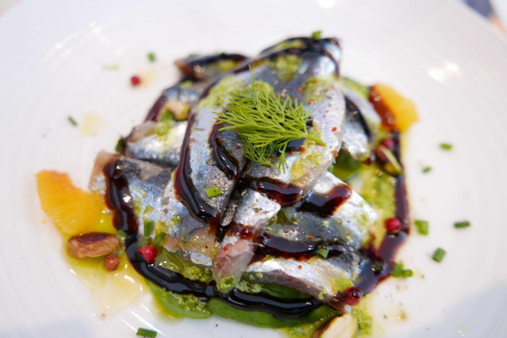 Sardines marinées © GP