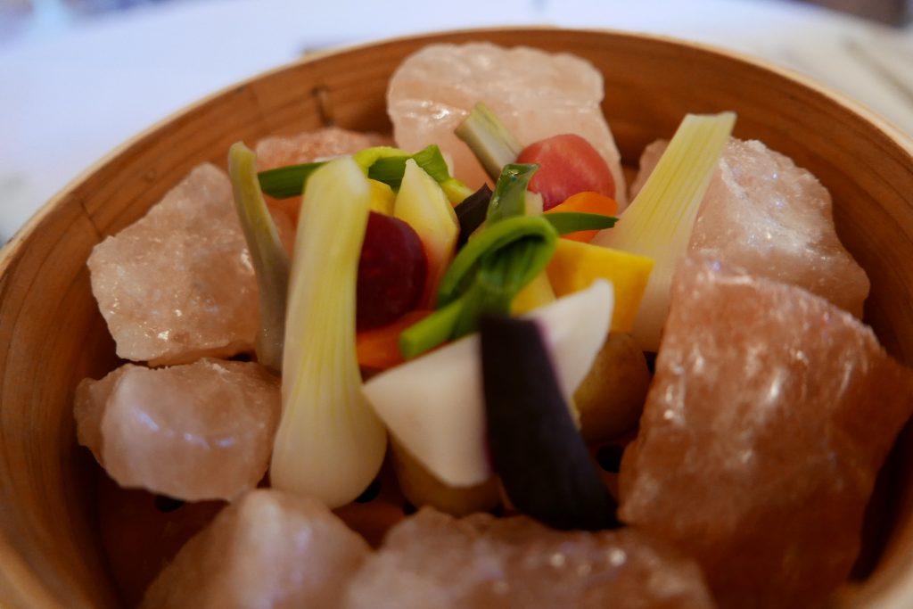 Légumes au sel d'Himalaya © GP
