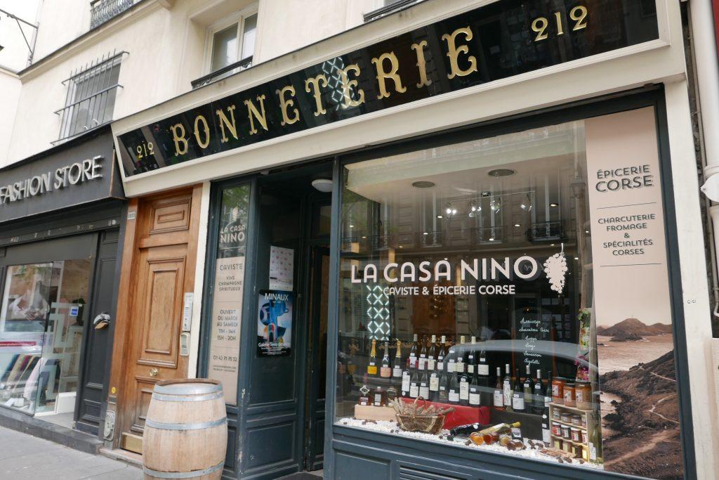 La casa nino caviste paris 3e les vins de vincent produits - Ouverture magasin paris ...