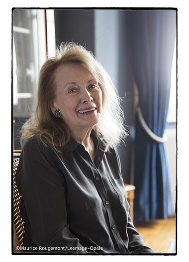 Annie Ernaux © Maurice Rougemont