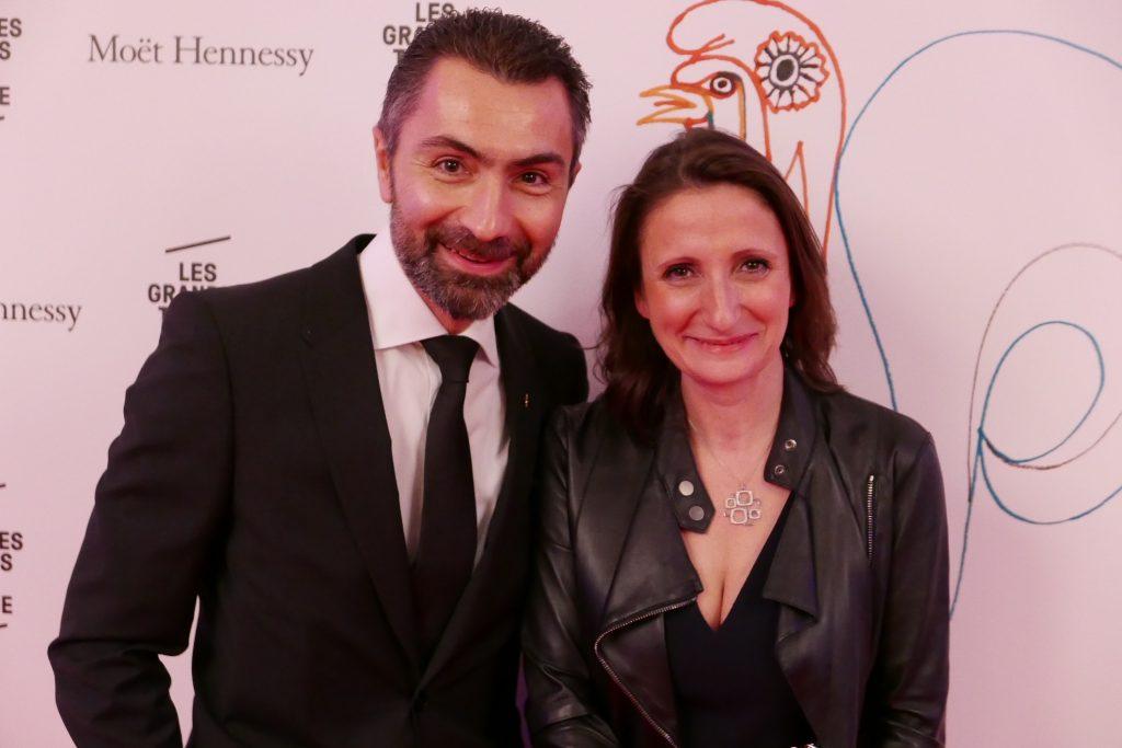 David Sinapian et Anne-Sophie Pic ©GP