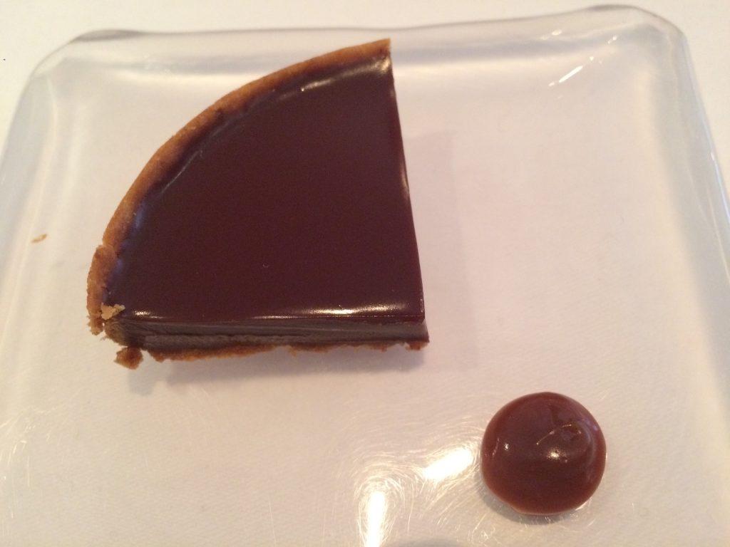 Tartelette chocolat-tonka © GP