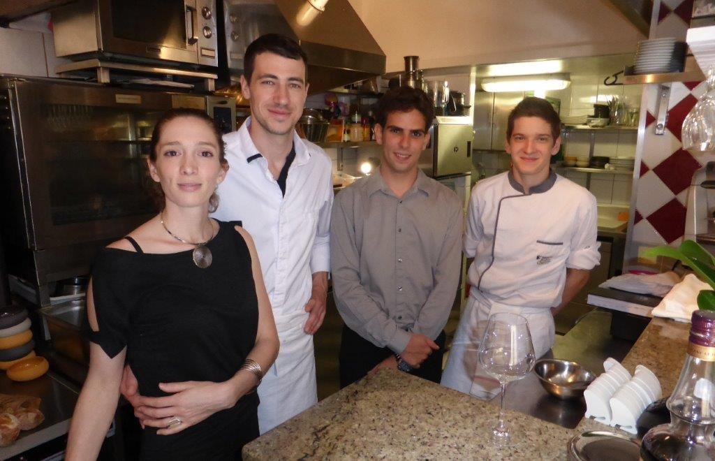 Jeanne, Lucas et l'équipe ©AA