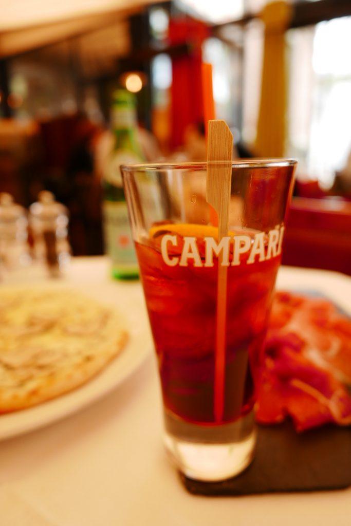 Americano et jambon San Daniele ©GP