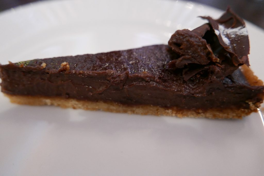 Tarte au chocolat © GP