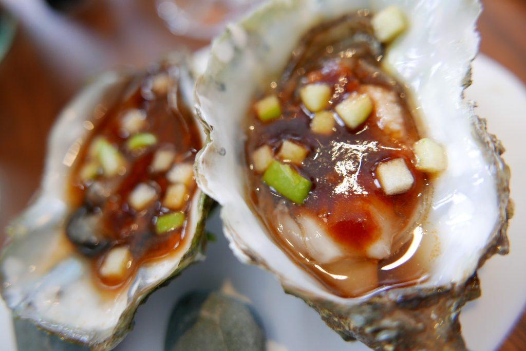 Huîtres ravigotées © GP