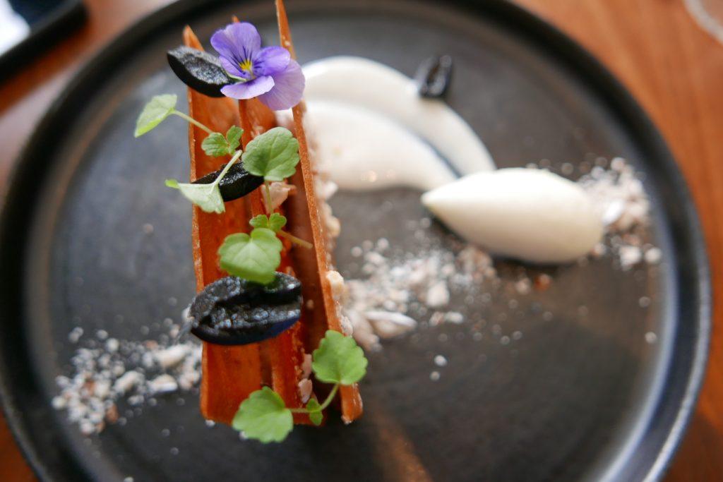 Feuille à feuille chocolat dragées © GP