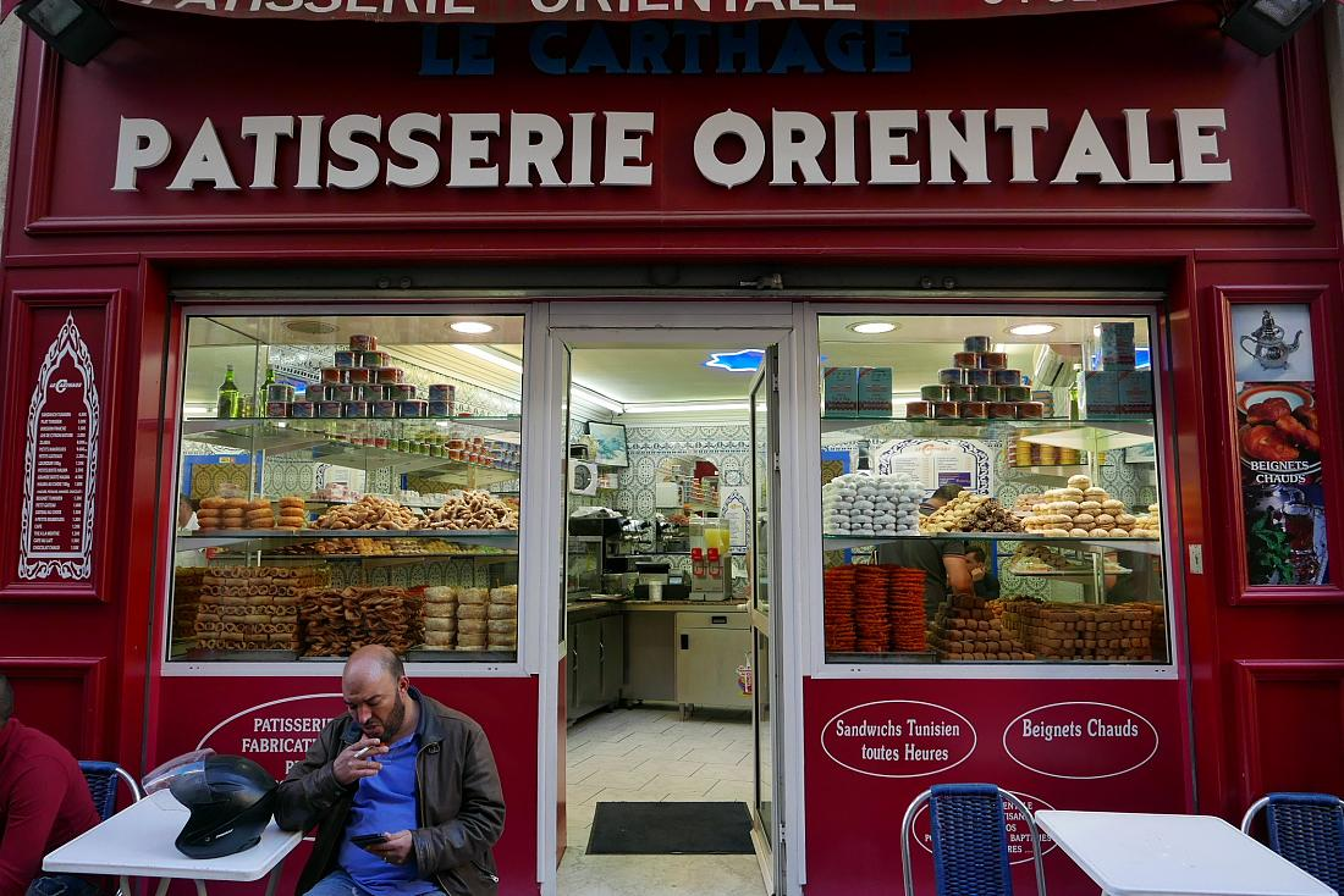 L accueil for Salon de the orientale