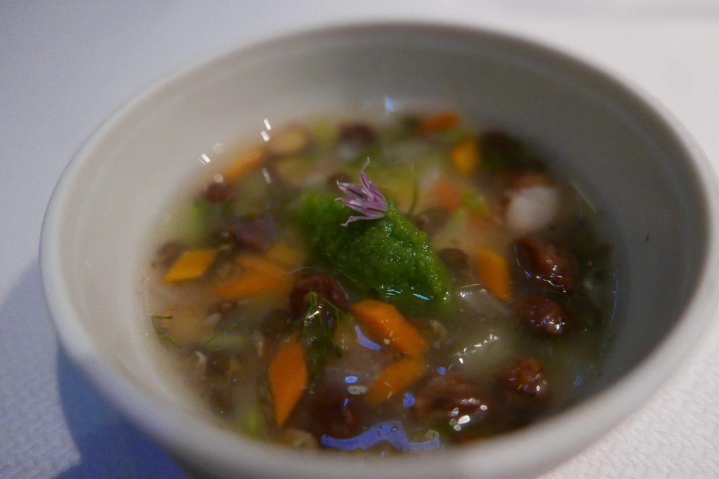 Minestrone de légumes aux pois chiches ©GP
