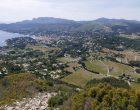 Vue depuis les hauts du Cap Canaille © GP