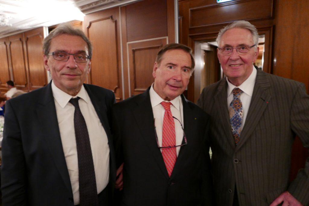 Roland Ries, Guy-Pierre Baumannn, Emile Jung © GP