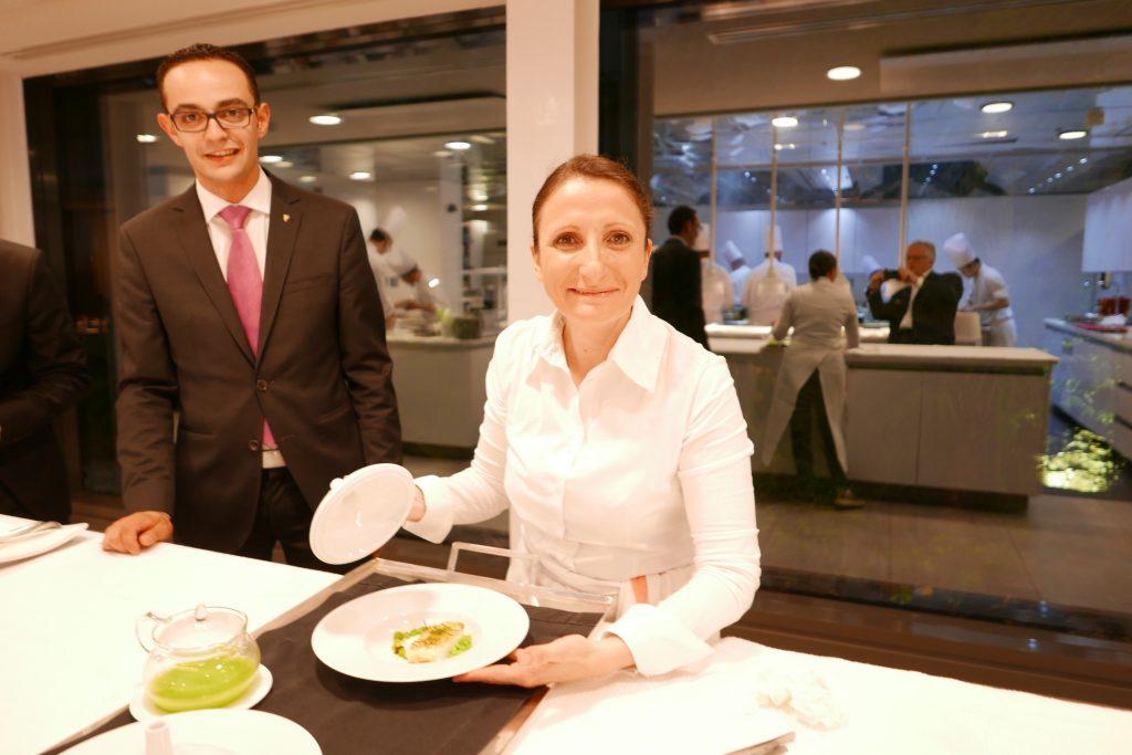 Anne-Sophie en cuisine ©GP