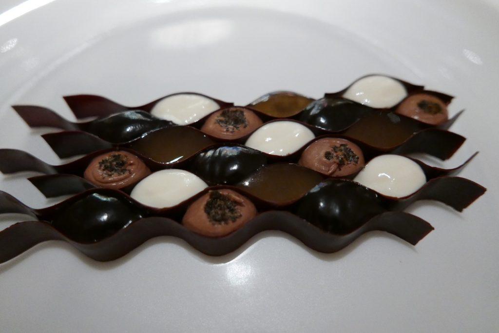 Chocolat au miel amer © GP