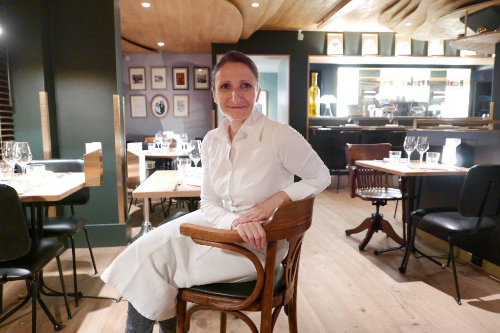 Anne-Sophie Pic chez André © GP
