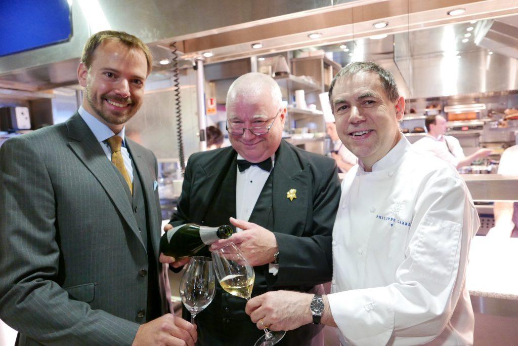 André Terrail, David Ridgway et Philippe Labbé © GP