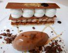 Gianduja en dacquoise croustillante au praliné feuilleté, ganache chocolat noisette © GP