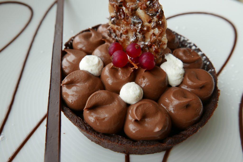 Tarte choco-caramel© GP