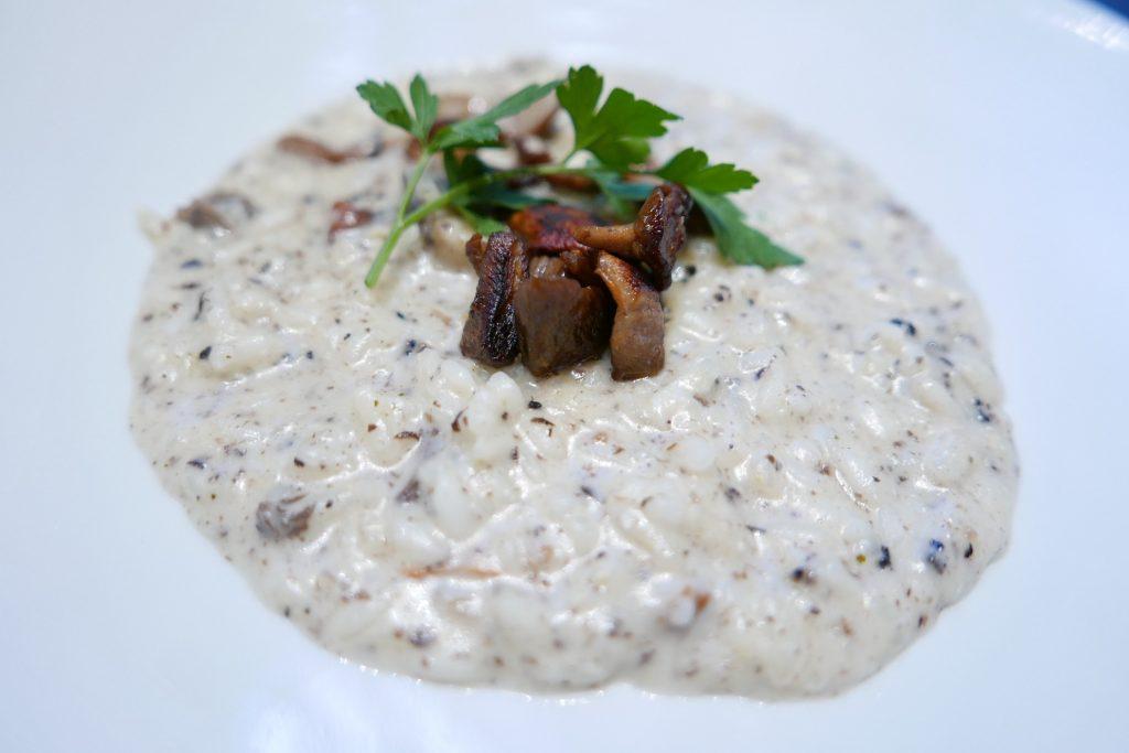 Risotto champignons et truffes © GP