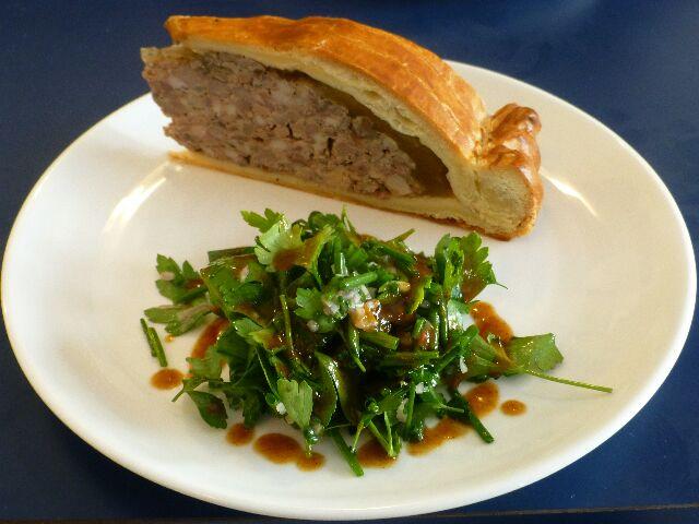 Pâté en croûte au foie gras © DC
