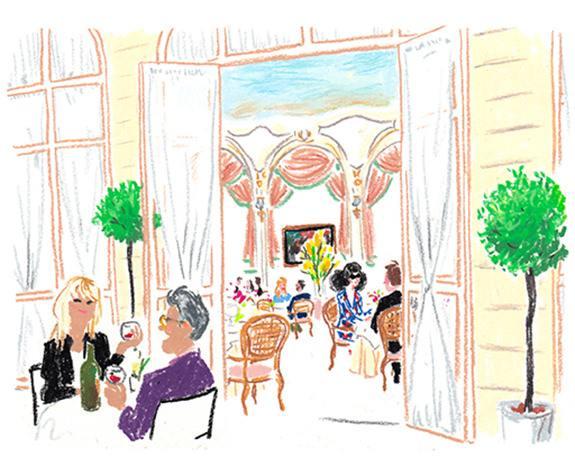 Au Ritz © RItz Paris