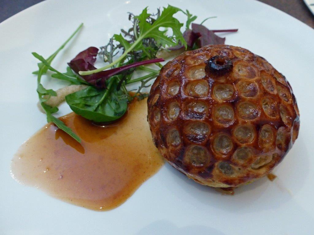 Tourte de foie gras ©AA
