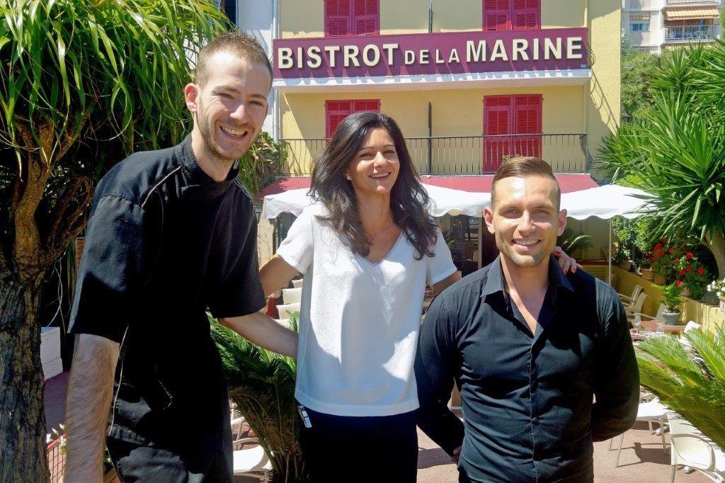 Alex, Eloïse et Nicolas © AA