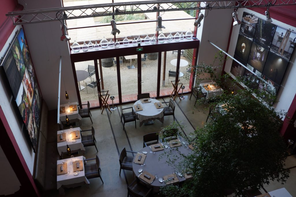 La salle à manger vue de haut © GP