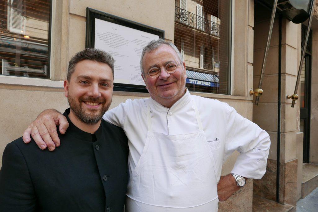 Franck Potier et Pascal Fayet chez Sormani ©GP