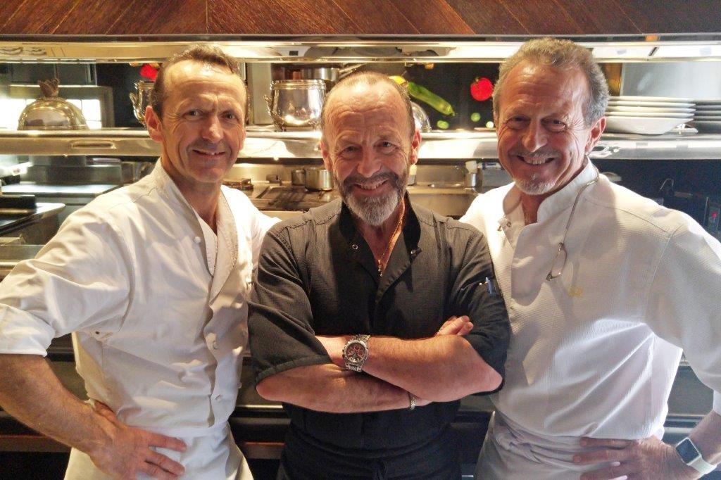 François, Antoine et Stéphane ©AA