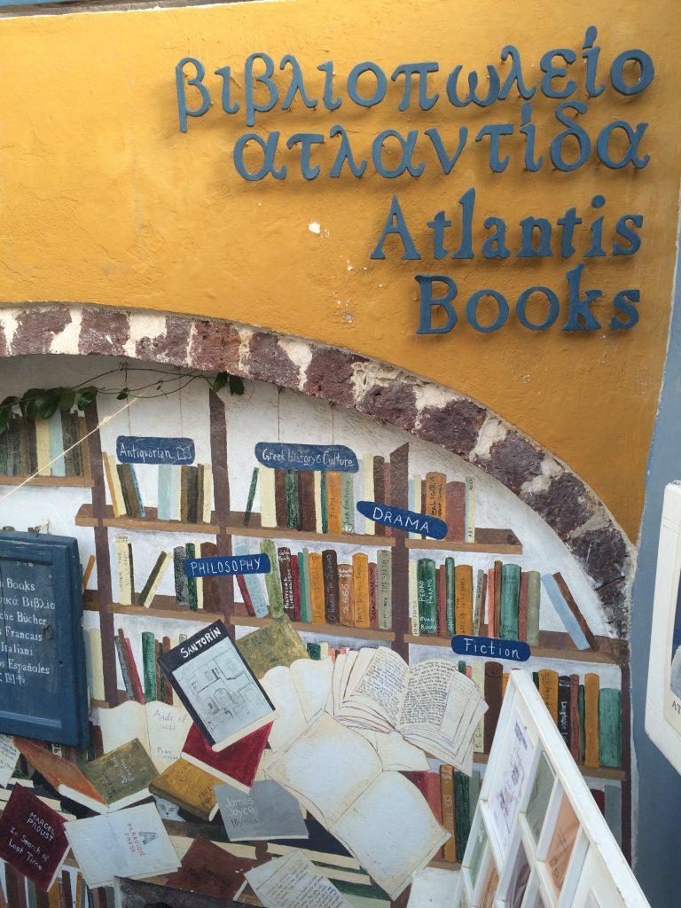 Façade de la librairoe ©GP