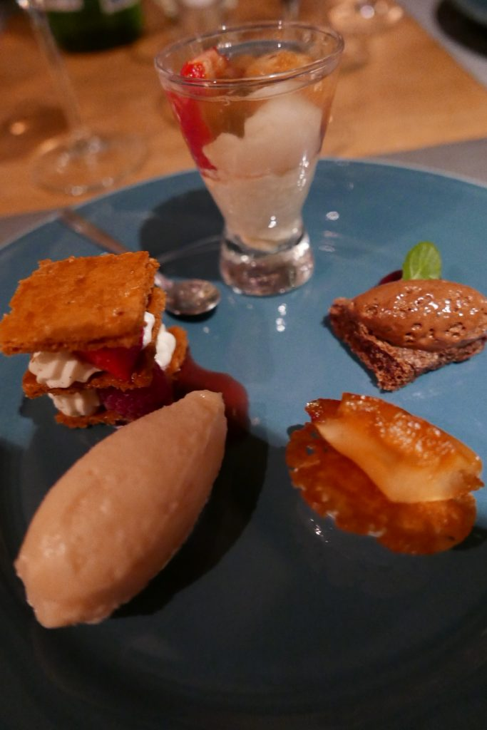 Assortiment de desserts © GP
