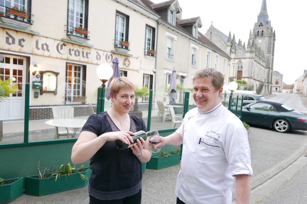 Karine et Laurent Olivier ©GP
