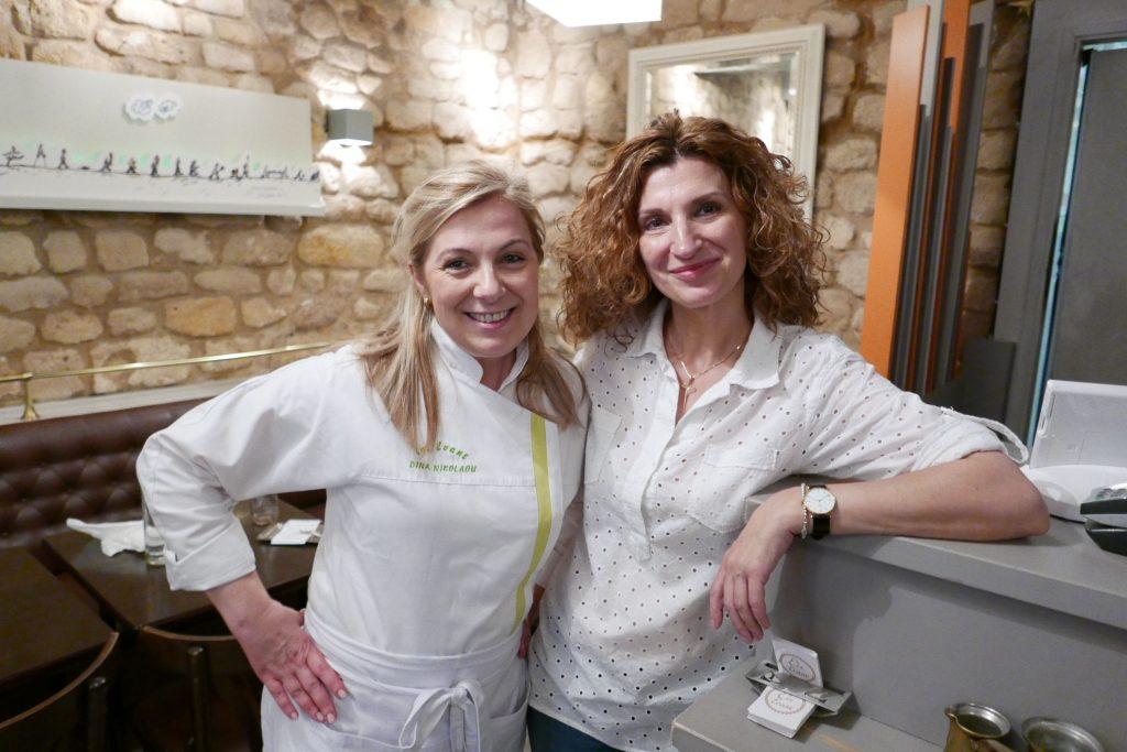 Dina et Maria Nikolaou © GP