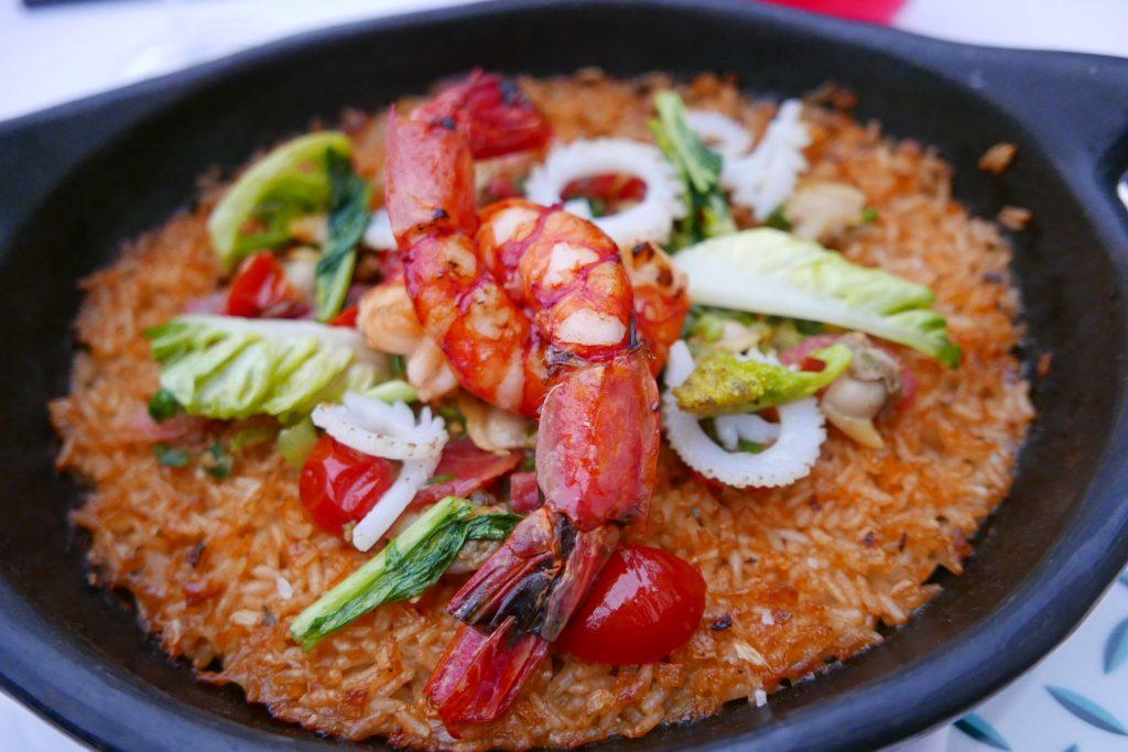 Gamberoni et riz en chamba ©GP