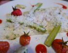 Asperges, moutarde au parmesan © GP