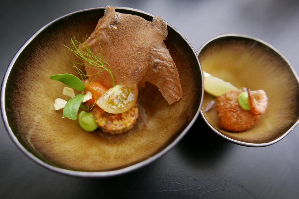 Crevettes grises en deux façons © GP