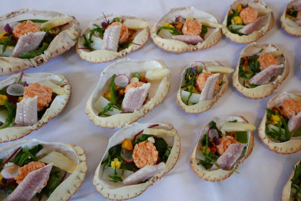 Coquilles de fruits de mer ©GP