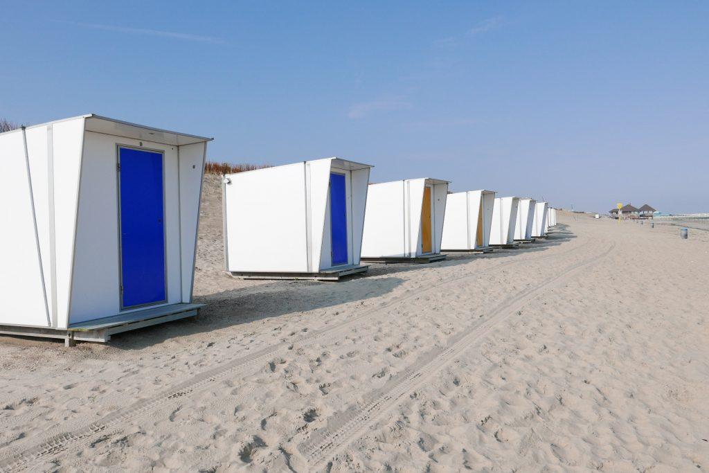 Les cabines de bain © GP
