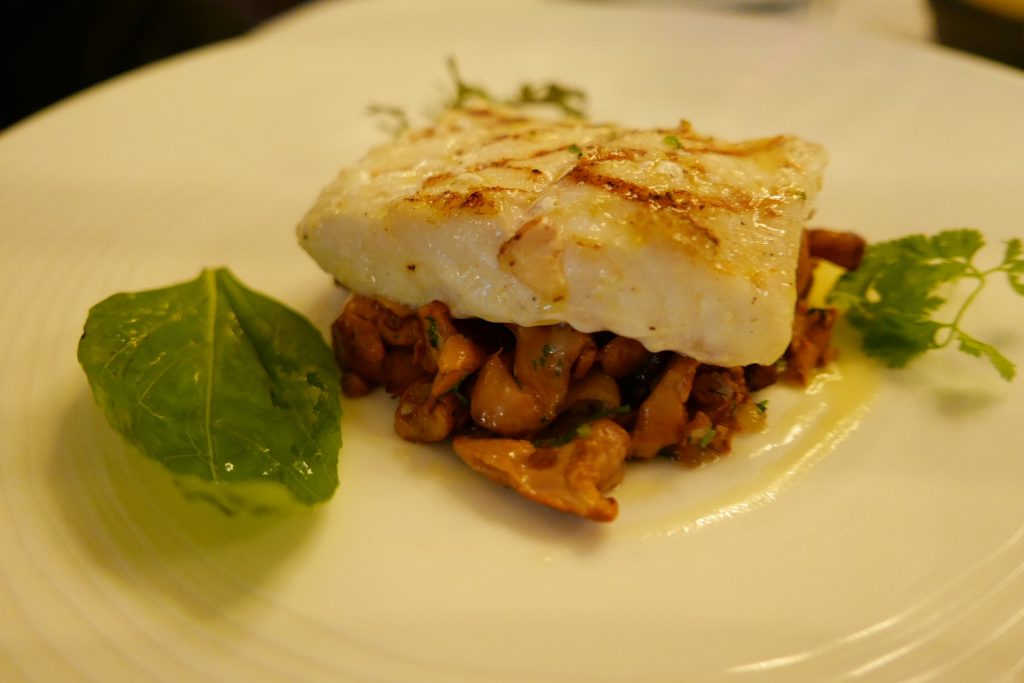 Turbot aux girolles © GP