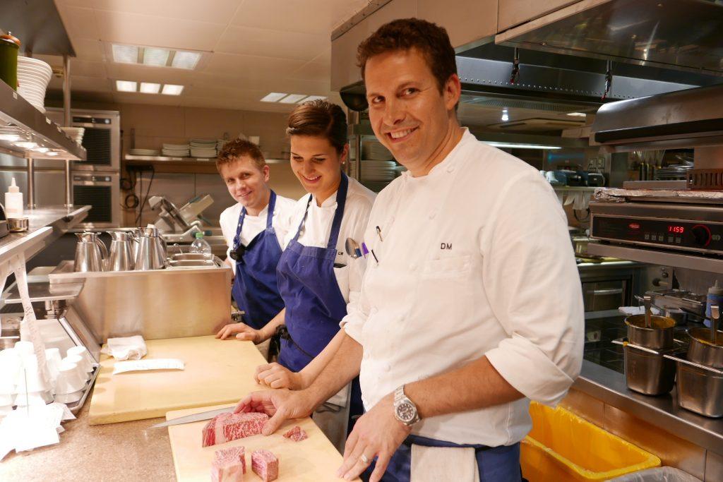 David Mac Intyre en cuisine © GP