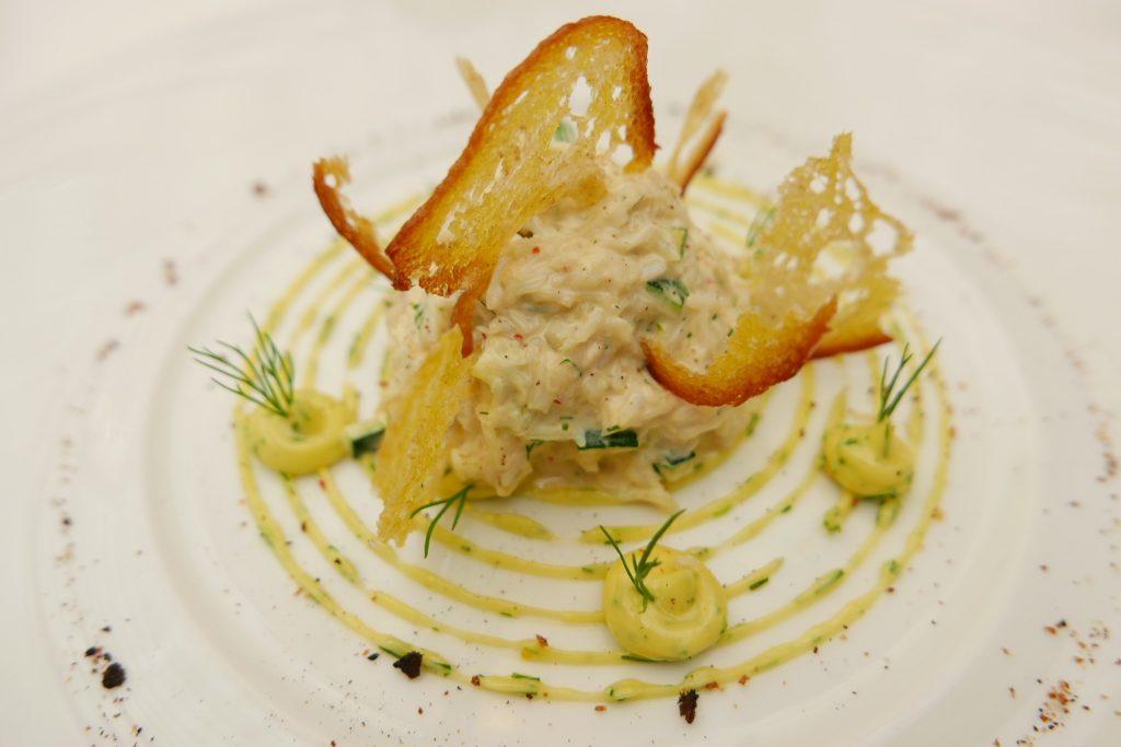 Salade de crabe mayonnaise et céleri © GP