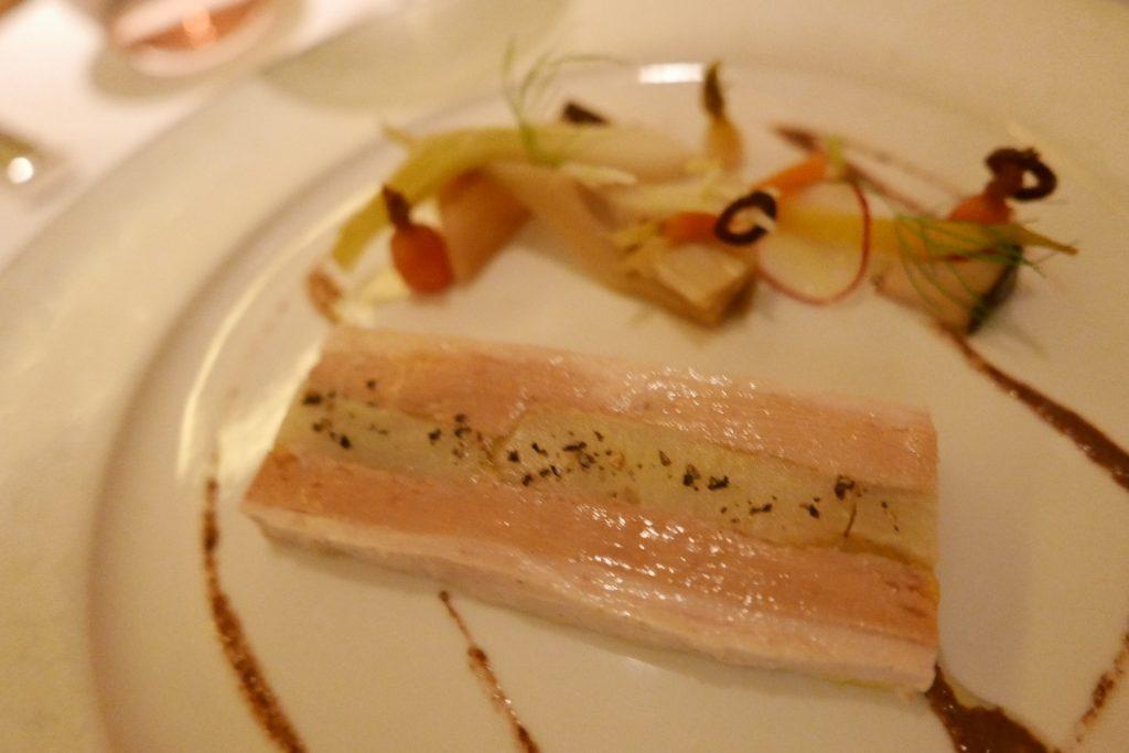 Terrine de pintade au foie gras © GP
