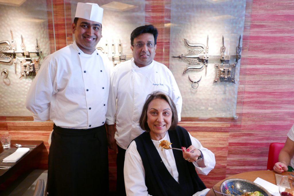 Namita Panjabi et les chefs © GP