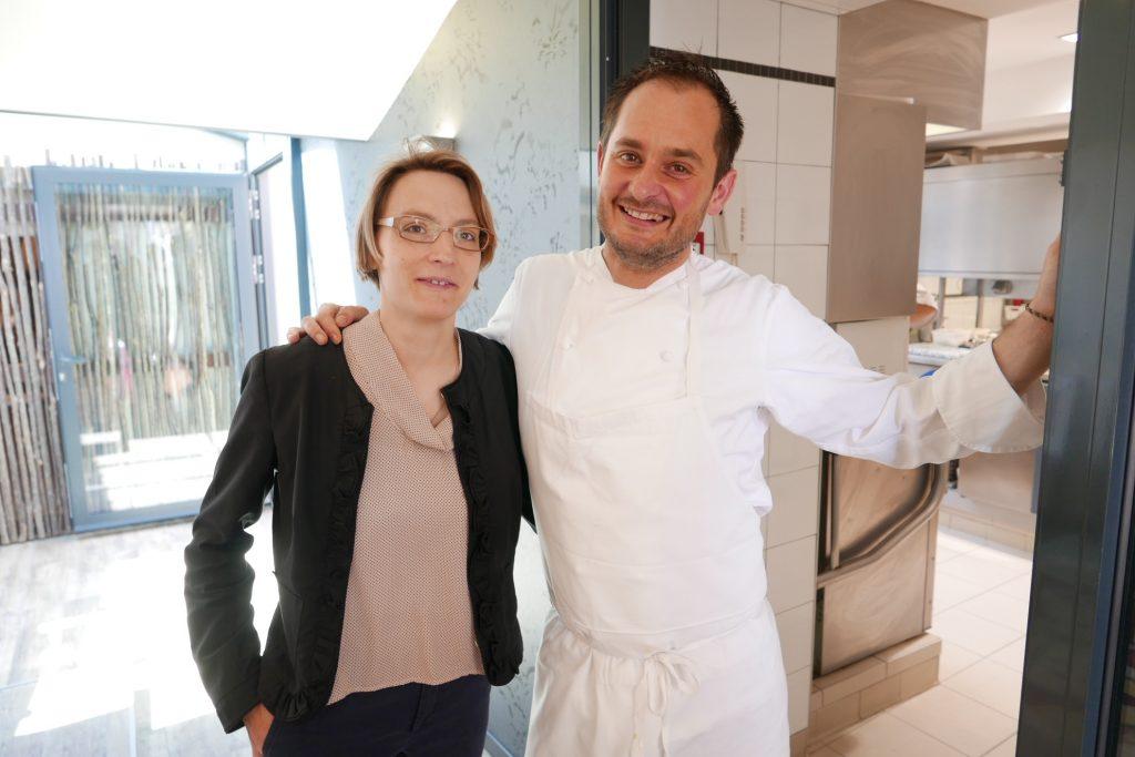 Céline et Alexandre à l'orée de la cuisine © GP