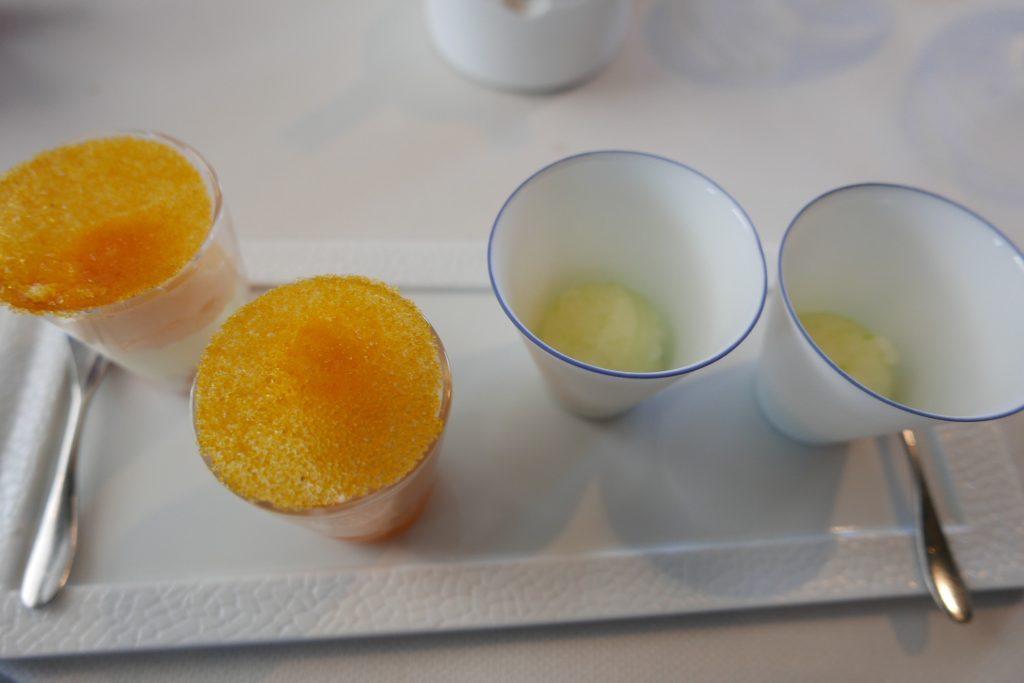 Ricqlès menthe et carotte, cardamome et orange ©GP