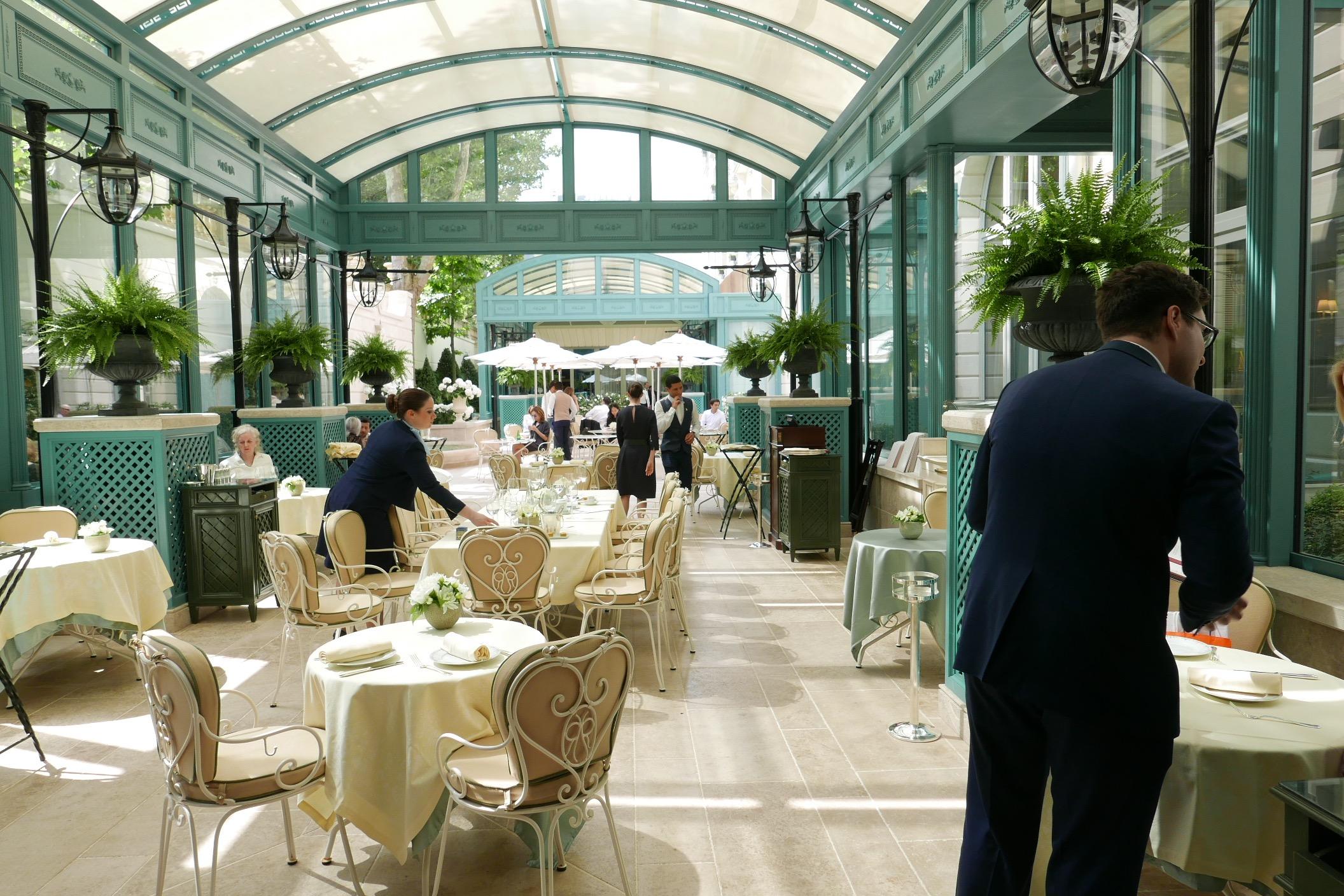 Le jardin de l espadon - Au jardin restaurant paris ...