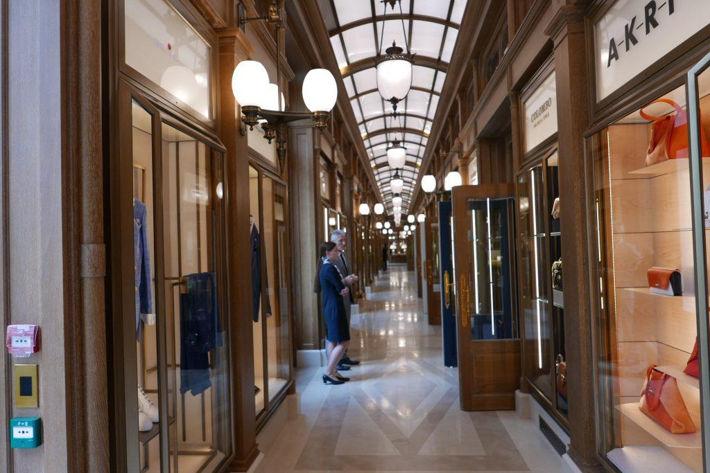 Ritz paris h tel paris 1er dans l 39 intimit du ritz for Galerie marchande casino